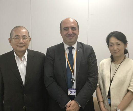 Türk-Japon Cemiyetini Tokyo'daki merkezlerinde ziyaret ettik