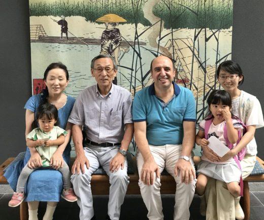 Başkanımızın Japonya'daki dostlarımıza ziyareti