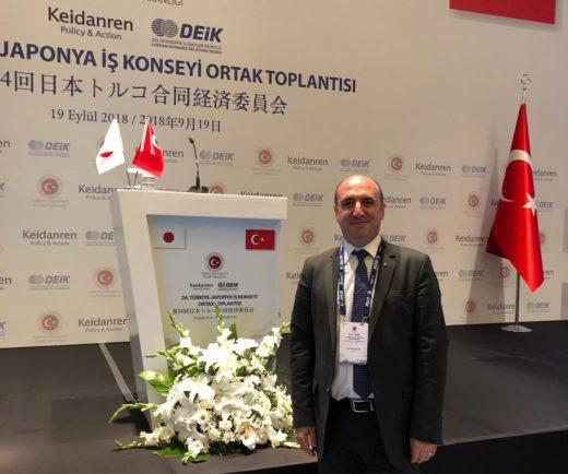 Türk-Japon İş Konseyi Toplantısına katıldık