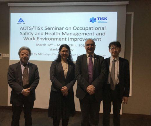 TİSK ve AOTS Japonya ile ortaklaşa İSG semineri düzenlendi