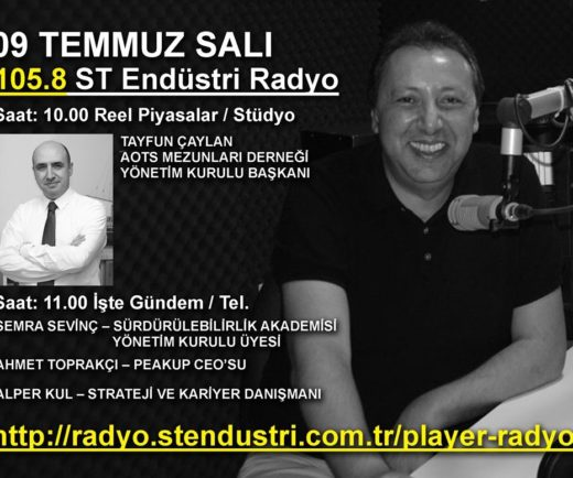 Derneğimiz ST Endüstri Radyo'da