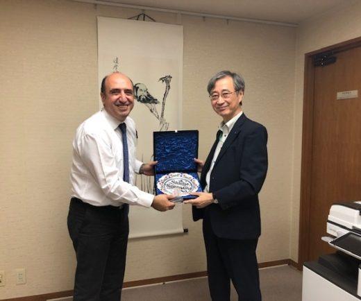 AOTS Japonya İcra Başkanını Tokyo'da ziyaret ettik