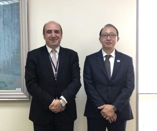 Japonya Başkonsolosunu Ziyaretimiz