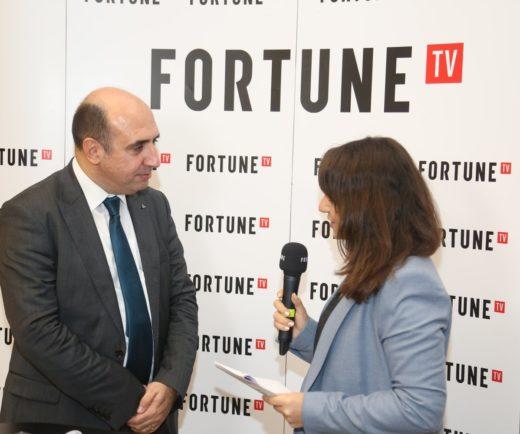 Derneğimiz Fortune TV yayınına katıldı